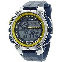 Sonata Ocean Analog Black Dial Men's Watch - NF7993PP01J