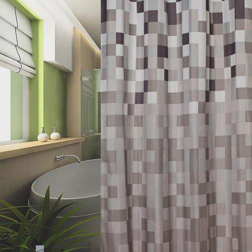 Duschvorhang 240x200 duschvorhang textil 240x200 karo 240 x 200