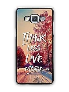 YuBingo Think Less. Live More Designer Mobile Case Back Cover for Samsung Galaxy A5