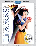 Snow White & The Seven Dwarfs [Blu-ray + DVD + Digital HD] (Bilingual)