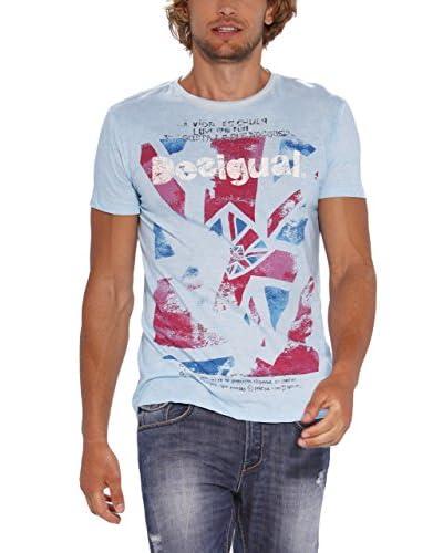 Desigual T-Shirt Manica Corta [Blu Chiaro]
