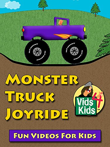 Monster Truck Joyride - Kids Count To Ten