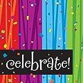 Creative Converting Milestone Celebrations Luncheon Napkins, 16-Count, Celebrate