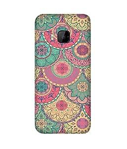Indian Pattern HTC One M9+ Case