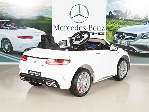 Mercedes benz s63 ride on car kids rc car remote control for Mercedes benz power wheels