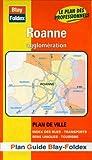 echange, troc Plans Blay Foldex - Plan de ville : Roanne (avec un index)