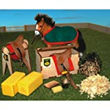 BRUSHWOOD Toy Farm BT1040 Stable & Tack Room Set scale 1:12