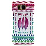 PowerQ Colorful TPU Pattern Series for Samsung GALAXY Alpha G850 Case Bag Pattern Print Printing Drawing Cell Phone Case mobile Cover Soft Protect Skin (1)