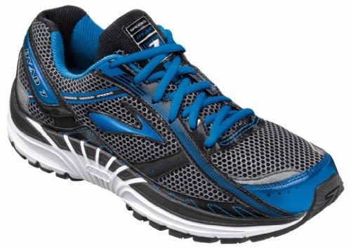 Brooks Men's Dyad 7 Running Shoe,SkydiverBlackSilver,11 4E