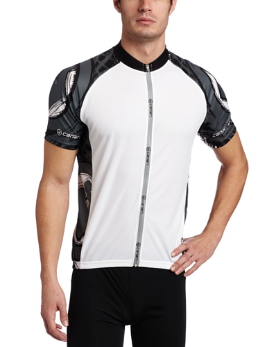 Buy Low Price Canari Cyclewear Men's Short Sleeve Cycling Jersey (12186-Canari Race Jersey-P)