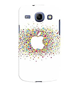 Samsung Galaxy Core MULTICOLOR PRINTED BACK COVER FROM GADGET LOOKS