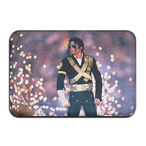 M Jackson Super Bowl Halftime Door Mat Ground Rug Doormats (Super Bowl Singer compare prices)