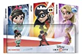 Disney Unendlichkeit - Pack-Figuren: Mädchen (Vanellope, Lila, Rapunzel) von DISNEY