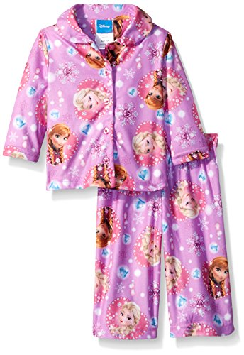 Baby Frozen Elsa and Anna's Gem Hearts 2-Piece Pajama Coat Set 24 Months
