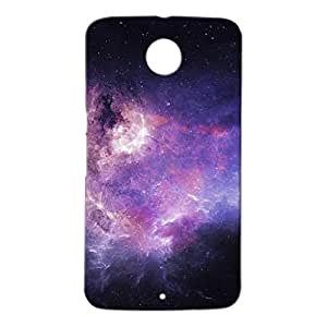 Mobile Cover Shop Glossy Finish Mobile Back Cover Case for Google Nexus 6