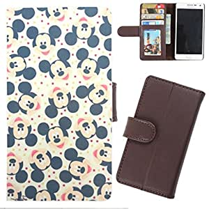 DooDa - For Google Nexus 6P PU Leather Designer Fashionable Fancy Wallet Flip Case Cover Pouch With Card, ID & Cash Slots And Smooth Inner Velvet With Strong Magnetic Lock