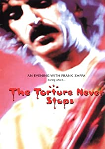 Frank Zappa- The Torture Never Stops DVD