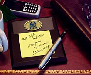 New York Yankees Memory Company Team Memo Pad Holder MLB Baseball Fan Shop Sports... by Memory Company
