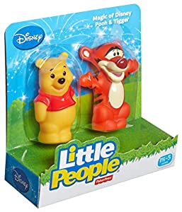 Fisher-Price Little People Magic of Disney Pooh & Tigger Baby Toy