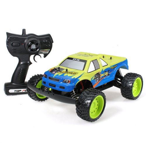 #1 1:14 Beach Off-Road RC Radio Remote Race Control Car Vehicle Big Wheel NO.6004-B  Review