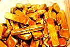 200 Grams Gold Recovery Gold Bar Melted Drop Scrap Plated Computer Pins CPU