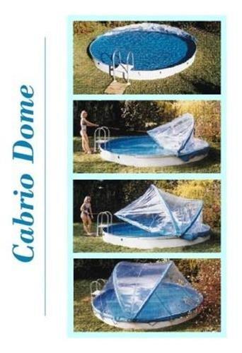 Abdeckung cabrio dome stahlwandbecken 5 00m rundform for Stahlwandbecken 2 m durchmesser