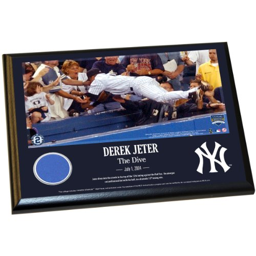 Derek Jeter Moments: The Dive 8X10 Wall Panel Plaque front-875859