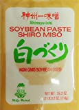 Shiro Miso Paste NON GMO No MSG Added Miko Brand 35.2oz by Miyasaka Brewery Co., Ltd [Foods]