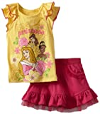 Disney Baby-girls Infant 2 Piece Knit Pullover and Skirt