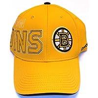Boston Bruins Flex Fit Reebok Hat - S/M - M019Z