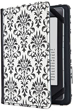 Verso Cover, Versailles Damask  [will only fit Kindle Paperwhite, Kindle (5th Generation), Kindle Touch (4th Generation) and Kindle (7th Generation)]