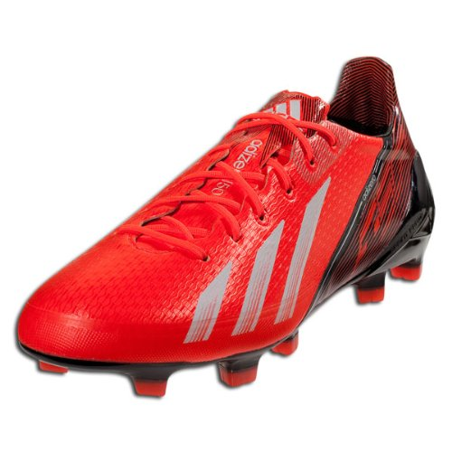 85925346aaa Adidas Adizero F50 TRX FG Infrared Red Black Syn Soccer Cleats Men Shoes  q33848