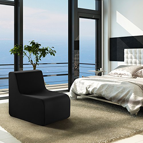 Vivon Cocoon Shaped Comfort Foam Modern Accent Furniture Chair