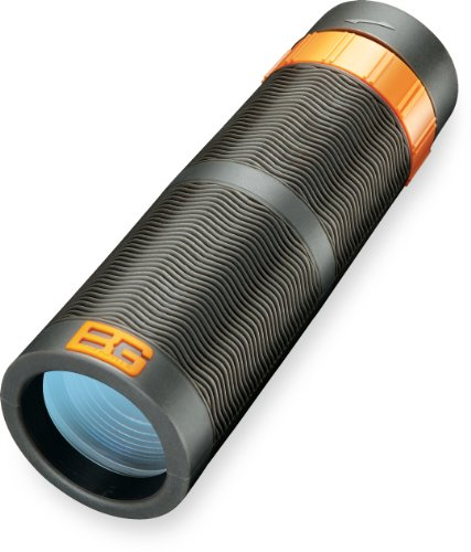 Bushnell Bear Grylls Monocular 9 x 32mm Roof Prism Waterproof/Fogproof Spotting Scope, Black