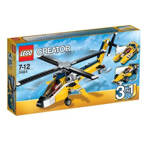 Yellow-Racers-LEGO-Creator