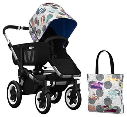 Bugaboo Donkey Accessory Pack - Andy Warhol Transport/Royal Blue (Special Edition) - 1