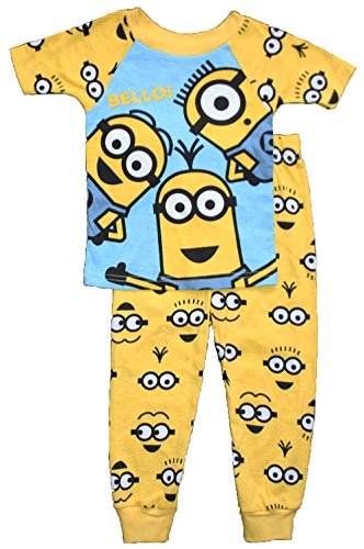Despicable Me Little Boys Minion Cotton Pajama Set