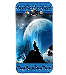 PrintDhaba Scenery D-4121 Back Case Cover for SAMSUNG GALAXY E7 (Multi-Coloured)