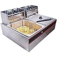 Yescom 5000W Stainless Steel Electric Deep Fryer