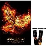 "The Hunger Games: Mockingjay Part 2 (2015) - Bird on Fire - Movie Poster Reprint 13"" x 19"" Borderless + Laminated bookmark"