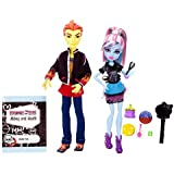 Monster High Classroom Partners Abbey Bominable and Heath Burns