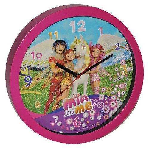 Wanduhr Mia and Me – 30,5 cm groß Uhr – Kinderzimmer Einhorn Kinderuhr – analog Feen Pferde Yuko Mo Omchao Mädchen jetzt bestellen