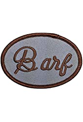 Spaceballs Barf The MOG Halloween John Candy Costume Iron On Name Badge Patch - By Patch Squad