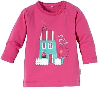 NAME IT Baby - Mädchen Pullover Else Cu Nb Ls Top, Einfarbig, Gr. 74, Rosa (Rose Violet)