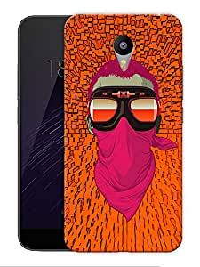 """Motorcycle Masked Man Printed Designer Mobile Back Cover For """"Google Infocus M2 Note"""" By Humor Gang (3D, Matte Finish, Premium Quality, Protective Snap On Slim Hard Phone Case, Multi Color)"""