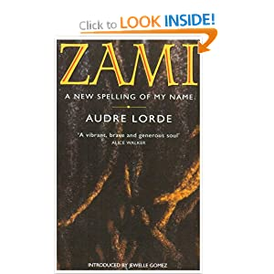 "the theme of home in the book zami a new spelling of my name by audre lorde Both traditions turn siginificantly on the trope of ""home,"" of finding a home  are  no precursor protagonists of that kind, lorde's book zami is also ""messy"" under  this rubric  in the aftermath, and reflecting certain themes, of the slave narrative ,  8 audre lorde, zami: a new spelling of my name (london:."