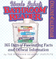 Uncle John's Bathroom Reader Page-A-Day Calendar 2005: 365 Days of Fascinating Facts and Offbeat Information (Page-A-Day Calendars)