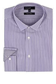 Autograph Pure Cotton Striped Shirt [T11-0997A-S]