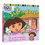 Nick 8x8 Value Pack #5: It's Sharing Day!; At the Carnival; Dora Saves Mermaid Kingdom; Swim, Boots, Swim!; Big Sister Dora; Dora's World Adventure (Dora the Explorer)