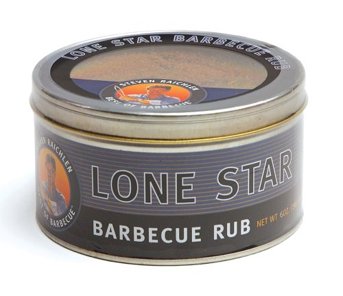 Steven Raichlen SR8081 7-Ounces Barbecue Rub, Lone Star
